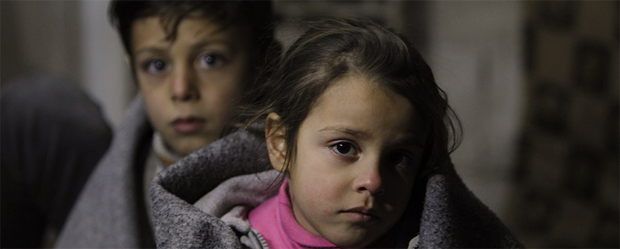 Children at risk as winter approaches the Middle East