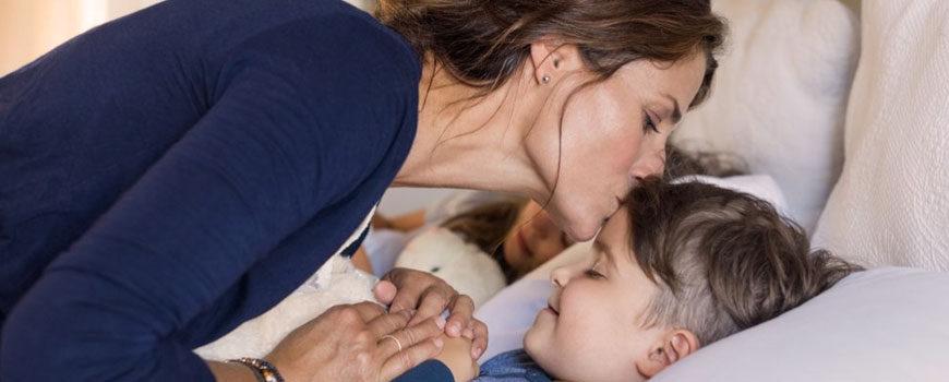 Deep breathing exercises can help kids fall asleep