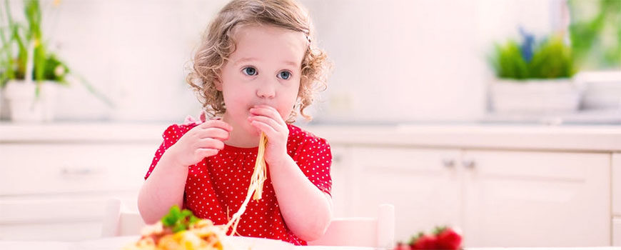 Kids who eat pasta have better diet