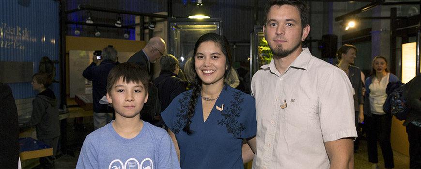 Deep Blue Artists Daniel Ranger, Laura Mendes and John Loerchner