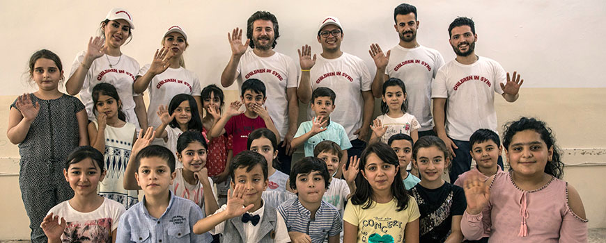 Children in Sync Founder, Mansour Jafari, joined us for the 2nd Children In Sync Arts and Music Summer Camp 2018 session!