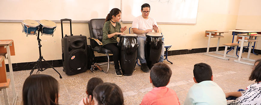 Children In Sync Arts & Music Summer Camp Day 1 Recap